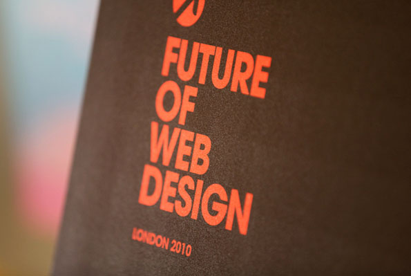 Future of Web Deign Conference London 2010
